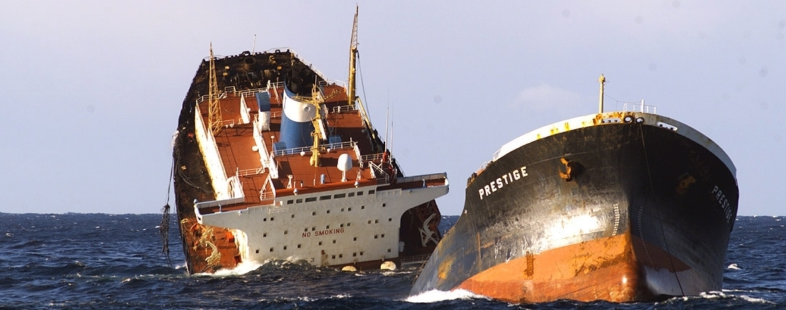 The 2002 incident with the oil tanker Prestige highlighted the importance of maritime jurisdiction in international relations.